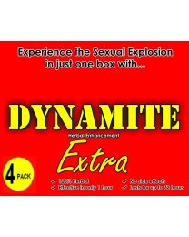 Dynamite Extra - 100% Herbal Enhancement - 4 Capsules