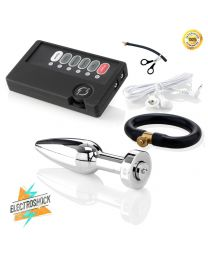 "Super Automatic Ejaculation Set - Butt Plug ""Bolt"""